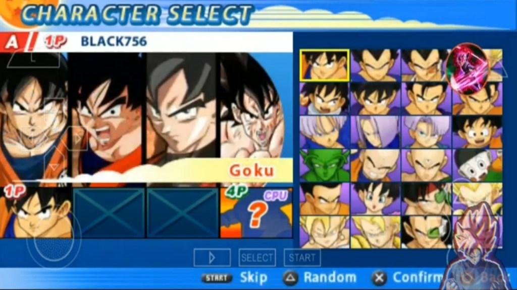 Dragon Ball Z Tenkaichi Tag Team PSP Mod Download