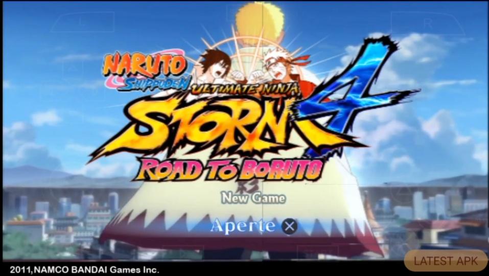 Naruto Ultimate Ninja Strom 4 PPSSPP