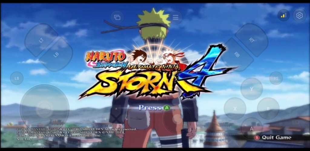 Naruto Shippuden Ultimate Ninja Storm 4 Apk + Obb