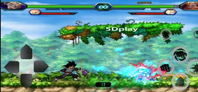 Saiyan Vs Ninja Arena 3.3 Mod Apk With 100 Characters