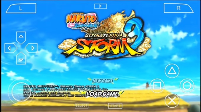 Download Game PPSSPP Naruto Ultimate Ninja Storm 3 For Android