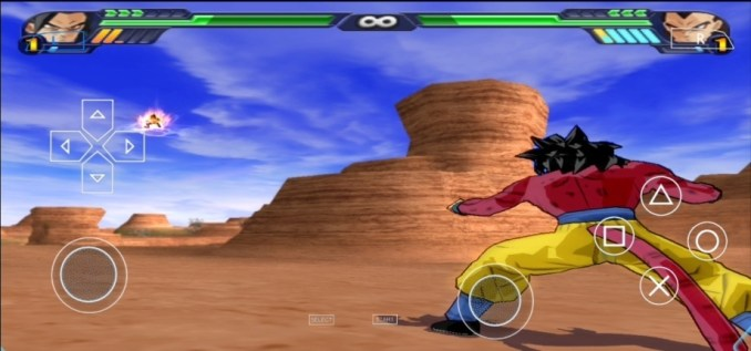 Dragon Ball Z Budokai Tenkaichi 3 PSP ISO Download Android