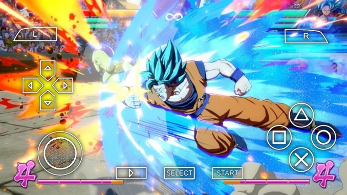 Dragon Ball Fighterz PPSSPP