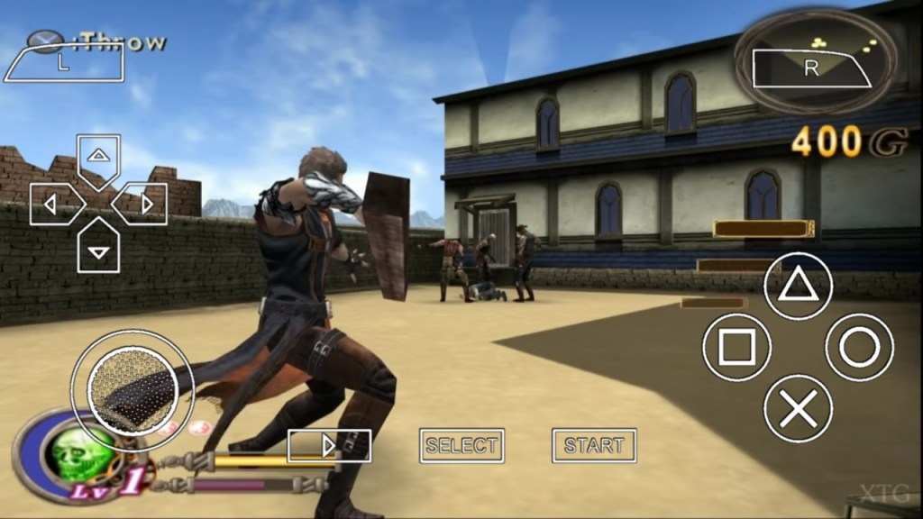 God Hand For PPSSPP
