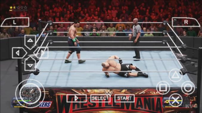 WWE 2K20 PPSSPP