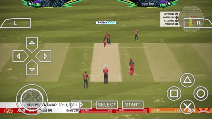 Cricket 19 PPSSPP ISO