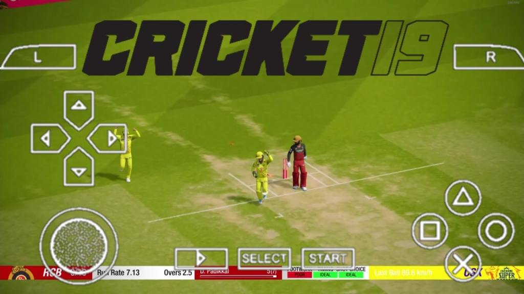 Cricket 19 PPSSPP ISO File Download For Android