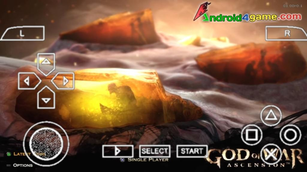 God Of War Ascension PPSSPP ISO Download Android