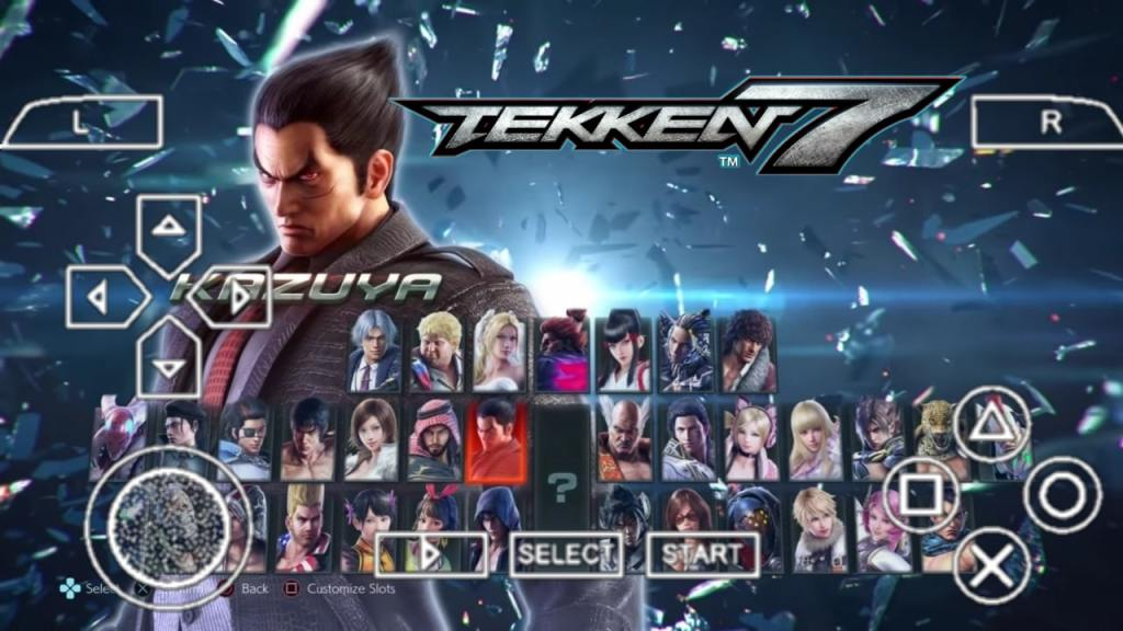 Tekken 7 PPSSPP ISO Zip File Download For Android