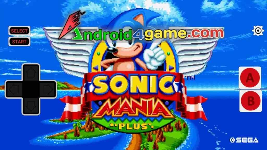 Sonic Mania Plus Apk