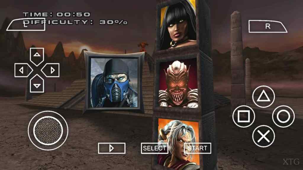 Mortal Kombat Armageddon PPSSPP