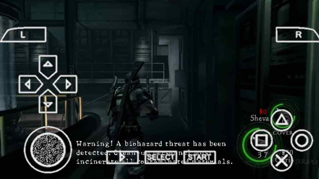 Resident Evil 5 PPSSPP