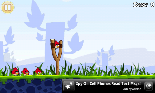 angry birds full version ads