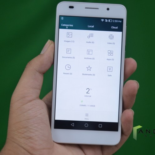 Huawei Honor 6 - File Manager