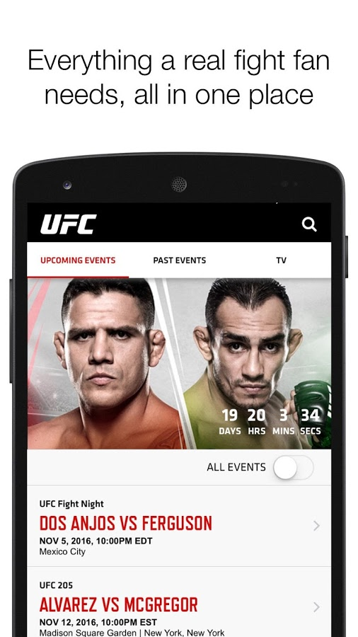 download ufc 205