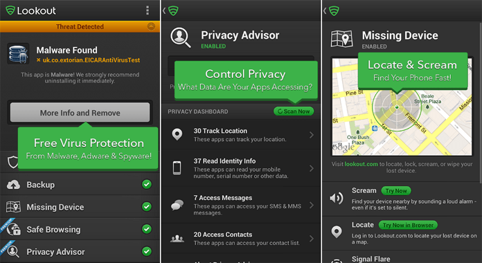 Lookout Android Security & Antivirus for Android Review