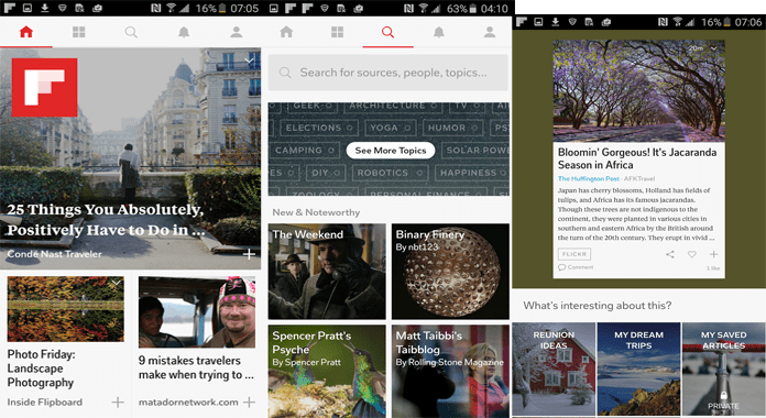 Your Social Magazine App Flipboard for Android Review
