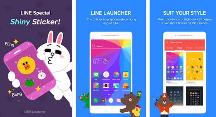 Best Launchers for Android LINE Launcher App