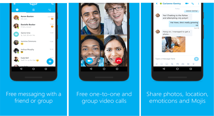 Skype Best Video Calling Apps for Android