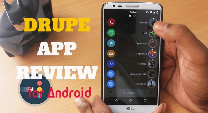 Drupe for Android – Review | The Best Contacts Dialer App