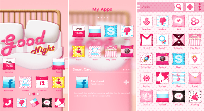 Good Night Best Go Launcher Themes Free Download