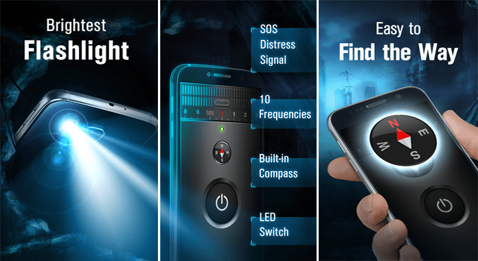 High-Powered Flashlight Best Free Flashlight Apps for Android without extra permission