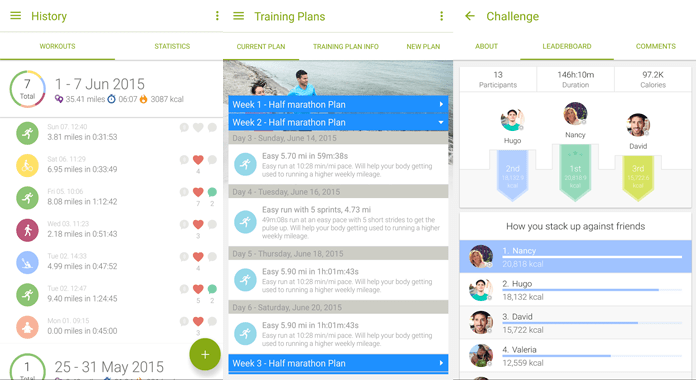 Review Endomondo Sports Tracker for Android