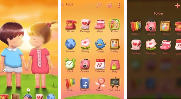 27 best go launcher themes for android 2018 android booth