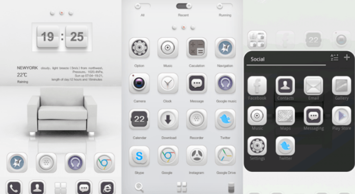 White Soul Best Go Launcher Themes Free Download