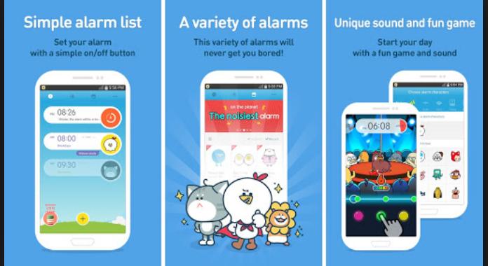 Alarm Clock App AlarmMon