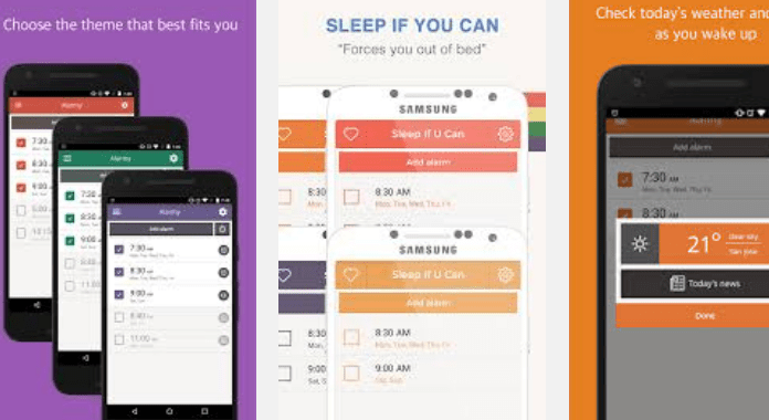 Best Alarm Clock Apps for Android Alarmy (Sleep If U Can)