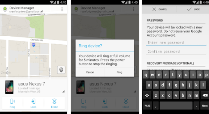 Must Have Android Apps Android Device Manager Free Download