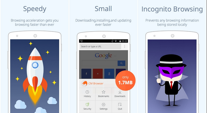 Must Have Android Apps free Download CM Secure Browser