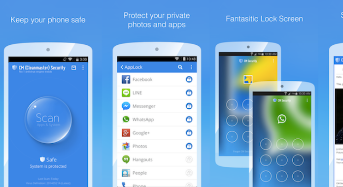 Must Have Android Apps free Download CM Security AppLock AntiVirus