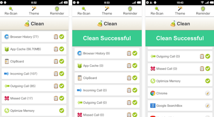 Best Android Cleaner Apps Free Downlaod Clean History - Optimize