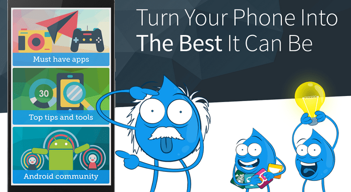 Drippler for Android – Review | Easily Get Top Android Tips and Updates