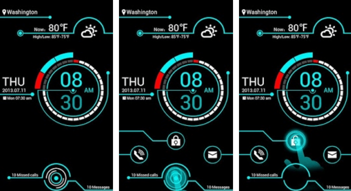 Electricity Best Go Locker Themes free download for Android