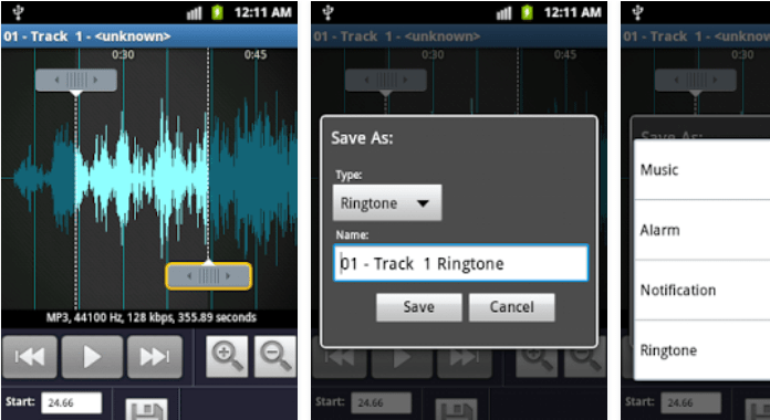 MP3 Ringtone Maker App