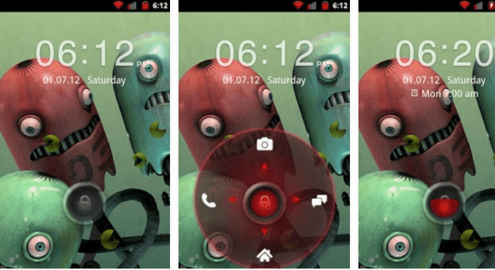 Red Four Key Best Go Locker Themes free download for Android