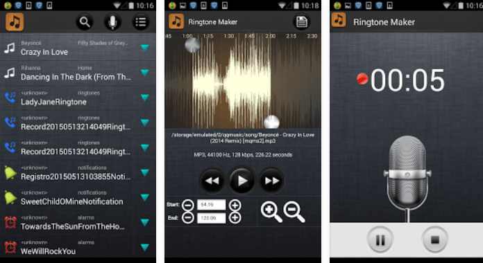 Ringtone Maker - MP3 Cutter App