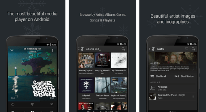 doubleTwist Best Android Music player Apps