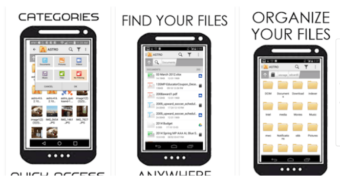 Best Android File Manager Apps Astro