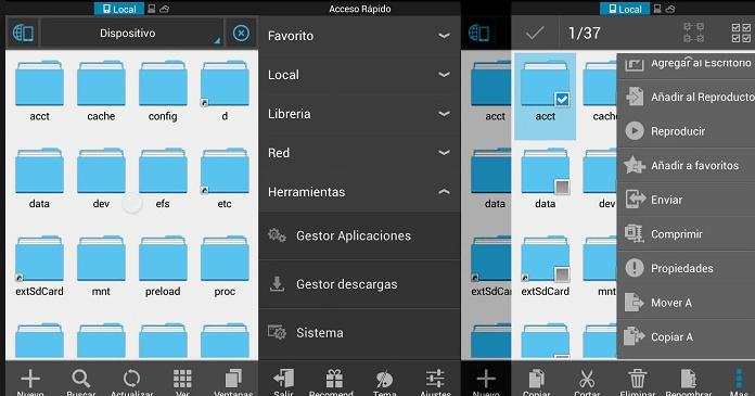 Best Android File Manager Apps ES File Explorer
