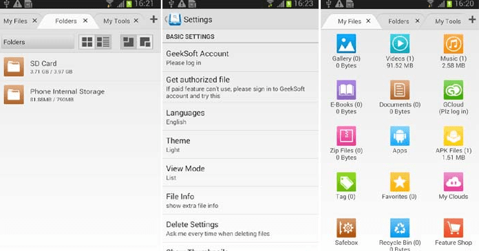 Best Android File Manager Apps File Expert with Clouds