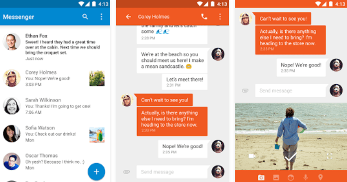 Best Messaging Apps for Android Google Messanger