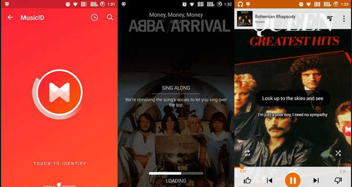 Best Free Music Apps for Android Musixmatch