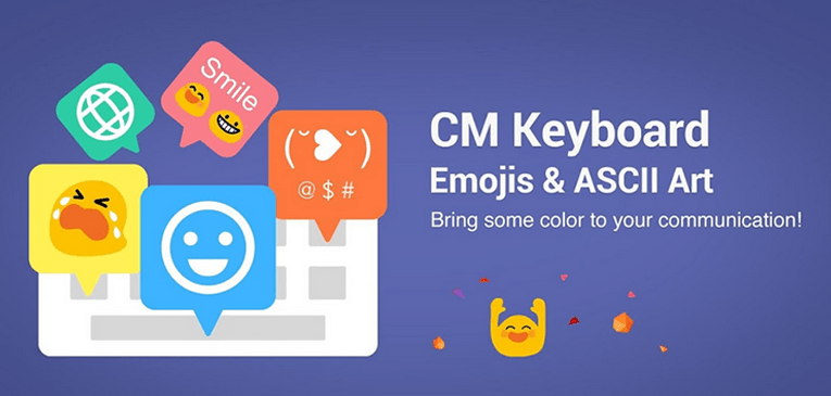 Best Emoji Keyboards for Android CM Keyboard - Emoji, ASCII Art