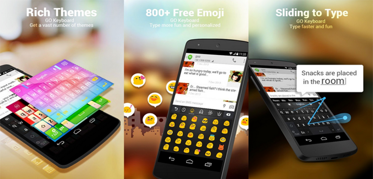 Best Emoji Keyboards for Android GO Keyboard – Emoji, Emoticons