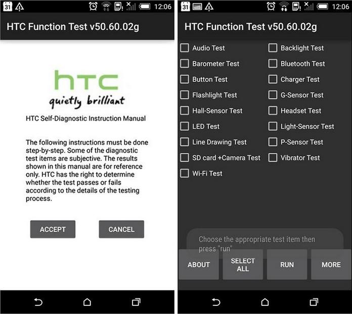 HTC Android Secret Codes, Hidden Menus, Dialer Codes