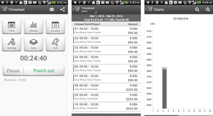 11 best time tracking apps for android